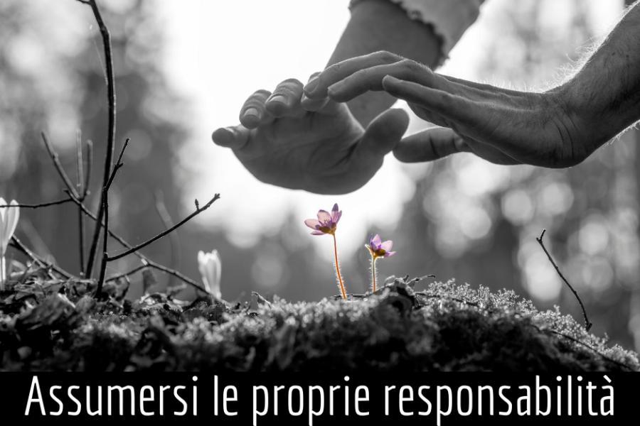 Assumersi le proprie responsabilità